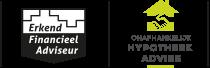 Logo's erkend financieel adviseur