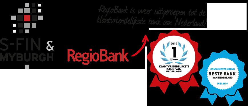 S-Fin Myburgh Regiobank - assurantiekantoor Zevenaar - Logo - klantvriendelijkste bank